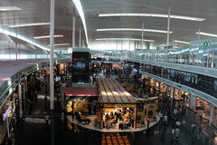 T1 Barcelona Gr Prat Airside royalty-vrije stock foto