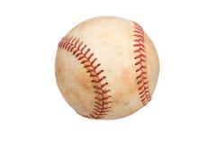 tła baseballa odosobniony rocznika biel Obrazy Royalty Free