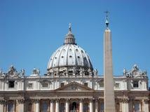 tła bazyliki bernini miasta fontanny Peter Rome s kwadratowy st Vatican fotografia stock