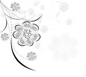 tła beautifull dekoracyjny kwiat Zdjęcia Royalty Free
