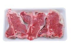T-Ben Steaks skummar in magasinet arkivbilder