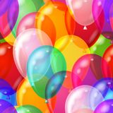 tła bezszwowy balonowy Fotografia Stock