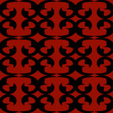 tła bezszwowy czarny czerwony Zdjęcie Royalty Free