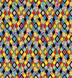 tła bezszwowy kolorowy deseniowy Obrazy Stock