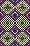 t?a bezszwowy kolorowy geometryczny deseniowy ilustracja wektor