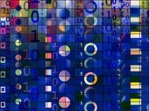 tła binary Zdjęcie Stock