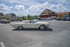 T-bird, 1964 ford thunderbird convertible Stock Image