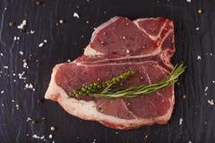 T-bone cut Stock Image