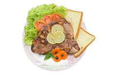 T Bone Pepper Steak Stock Photography