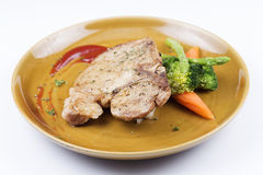 T-bone pork steak Stock Image