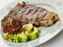 T bone steak Royalty Free Stock Images