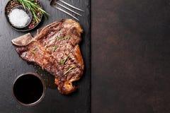 T-Bone-Steak Lizenzfreie Stockfotografie