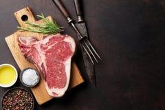 T-Bone-Steak Lizenzfreie Stockbilder