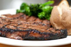 T-bone steak Royalty Free Stock Images