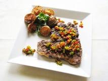 T-bone steak Stock Images