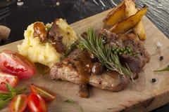 T-bone steak Stock Photos