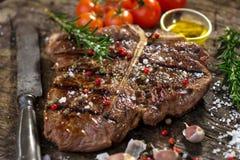T-Bone Steak Stock Photography