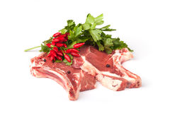T-Bone Steaks Royalty Free Stock Image
