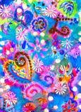 tła brezentowego grunge ilustracyjny tekstury wektor Obraz Royalty Free
