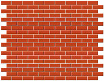 tła brickwall Fotografia Royalty Free