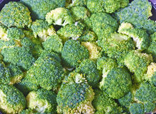 tła broccolli Zdjęcie Stock