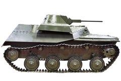 T-40C被隔绝的苏联轻型坦克 免版税库存照片