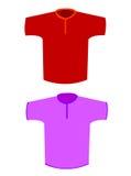 T- camisas Foto de Stock