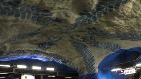 T-Centralen Estación de metro Arte en el subterráneo Estocolmo suecia almacen de video