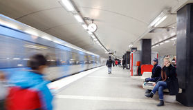 T-centralen subway station Royalty Free Stock Images