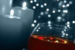 tła coll szklany wino Obrazy Stock