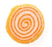 tła cukierków owoc biel Obraz Royalty Free