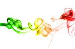tęcza abstrakcjonistyczny dym Fotografia Royalty Free