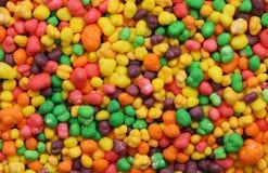 Tęcza Barwioni cukierki Obrazy Stock