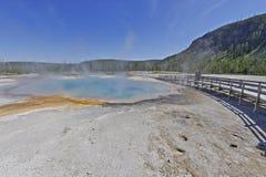 Tęcza basen, Yellowstone park narodowy Fotografia Royalty Free