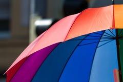 Tęcza kolorów gacenie od deszczu Zdjęcia Royalty Free