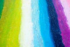 Tęcza kolorów lampasy Zdjęcie Royalty Free