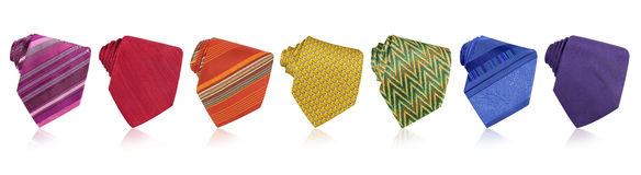 tęcza krawaty Zdjęcie Royalty Free