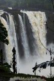 Tęcza Spada w deszczu Zdjęcia Royalty Free