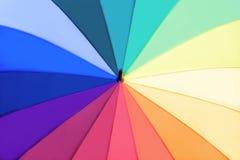 tęcza stubarwny parasol Fotografia Stock