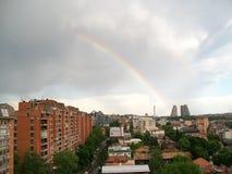 Tęcza w Belgrade Zdjęcie Royalty Free