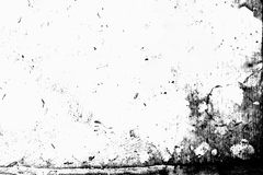 tła czarny grunge tekstura Abstrakcjonistyczna grunge tekstura na dist Fotografia Royalty Free