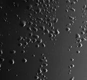 tła czarny kropelek woda Zdjęcia Stock
