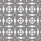 tła czarny monochromatycznego piractwa bezszwowy symbolu biel Zdjęcie Royalty Free