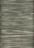 tła czarny rattan pasiasty biel fotografia stock