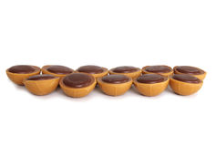 tła czekolad toffee biel Obraz Royalty Free
