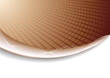 tła czekoladowego koloru korporacyjny wektor ilustracji