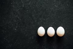t?a czer? jajka biel zdjęcia stock