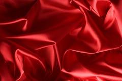 tła czerwieni jedwab Obraz Royalty Free