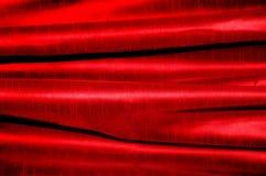 tła czerwieni jedwab Fotografia Royalty Free