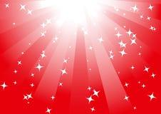 tła czerwieni wektor Fotografia Royalty Free